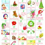Free Countdown To Christmas Advent Calendar