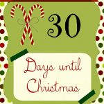 free countdown to christmas printable