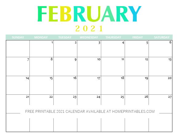 Free Printable 2021 Calendar Pdf Clean And Pretty