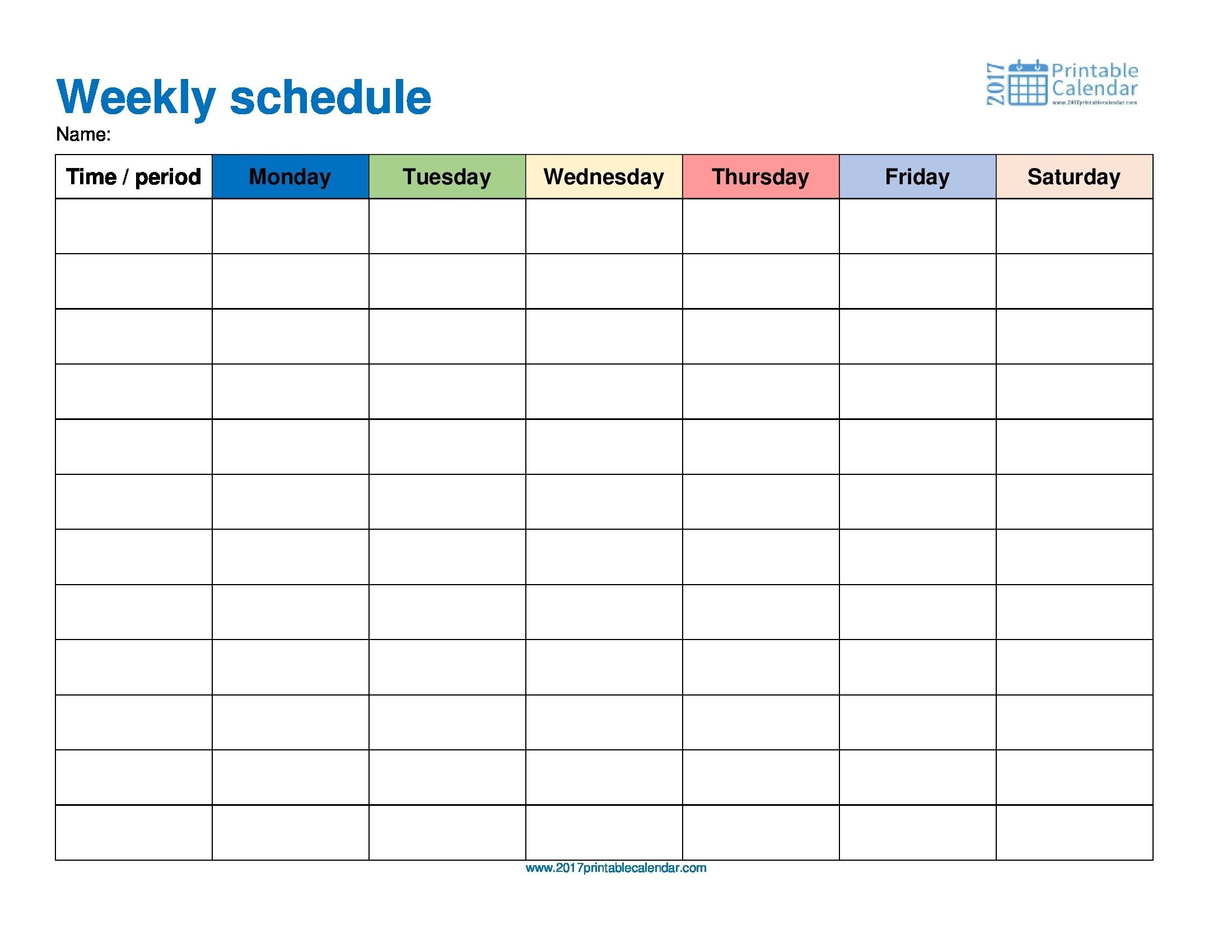Free Printable Day Runner Calendars In 2020 Monthly