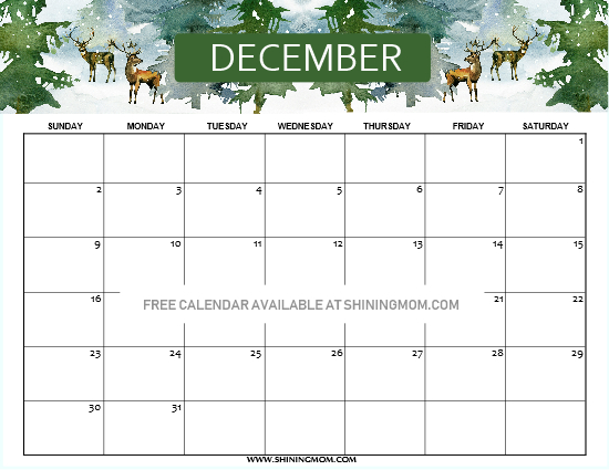 Free Printable December 2018 Calendar 14 Beautiful