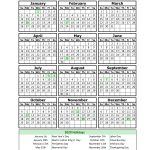 Free Printable Employee Calendar 2020 Calendar 1