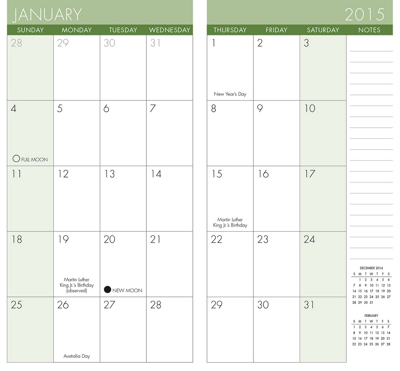 Free Printable Pocket Size Calendars Calendar