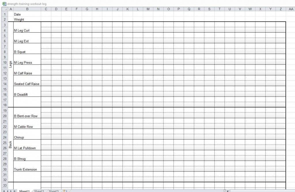Free Workout Sheets Blog Dandk