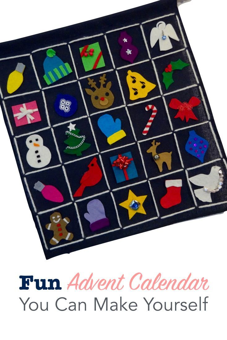 Fun Advent Calendar You Can Make Yourself Cool Advent