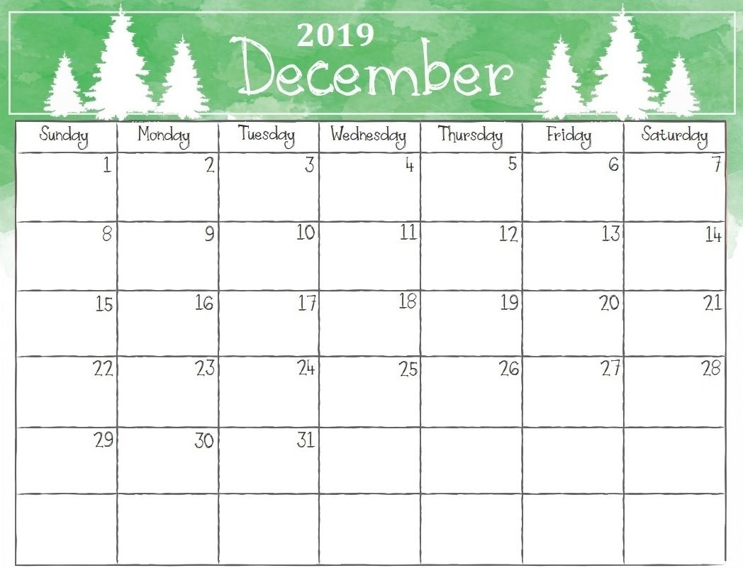 Get 2019 Calendar December Christmas Calendar E28b86 The Best