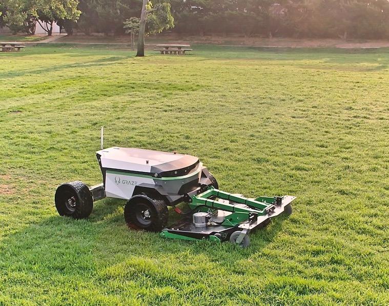 Graze Autonomous Commercial Mower Landscape Business