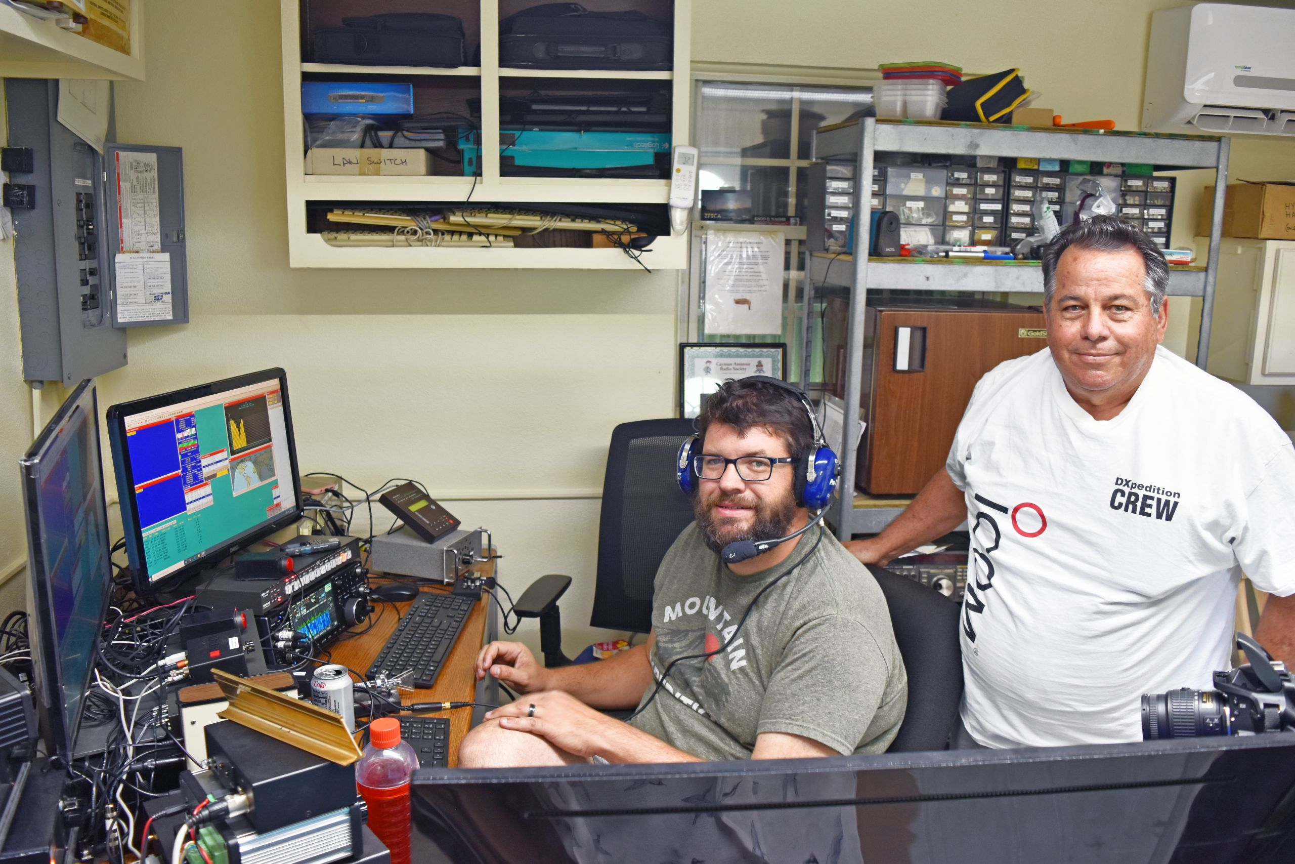 ham radio operators compete for two days straight cayman