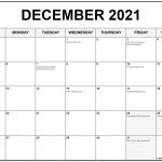 Holiday Calendar December 2021 2021 Calendar