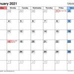 January 14 2021 Carlsbad Calendar Calendar 2021