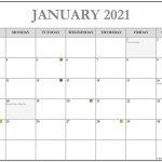 January 2021 Calendar 56 Templates Of 2021 Printable 2