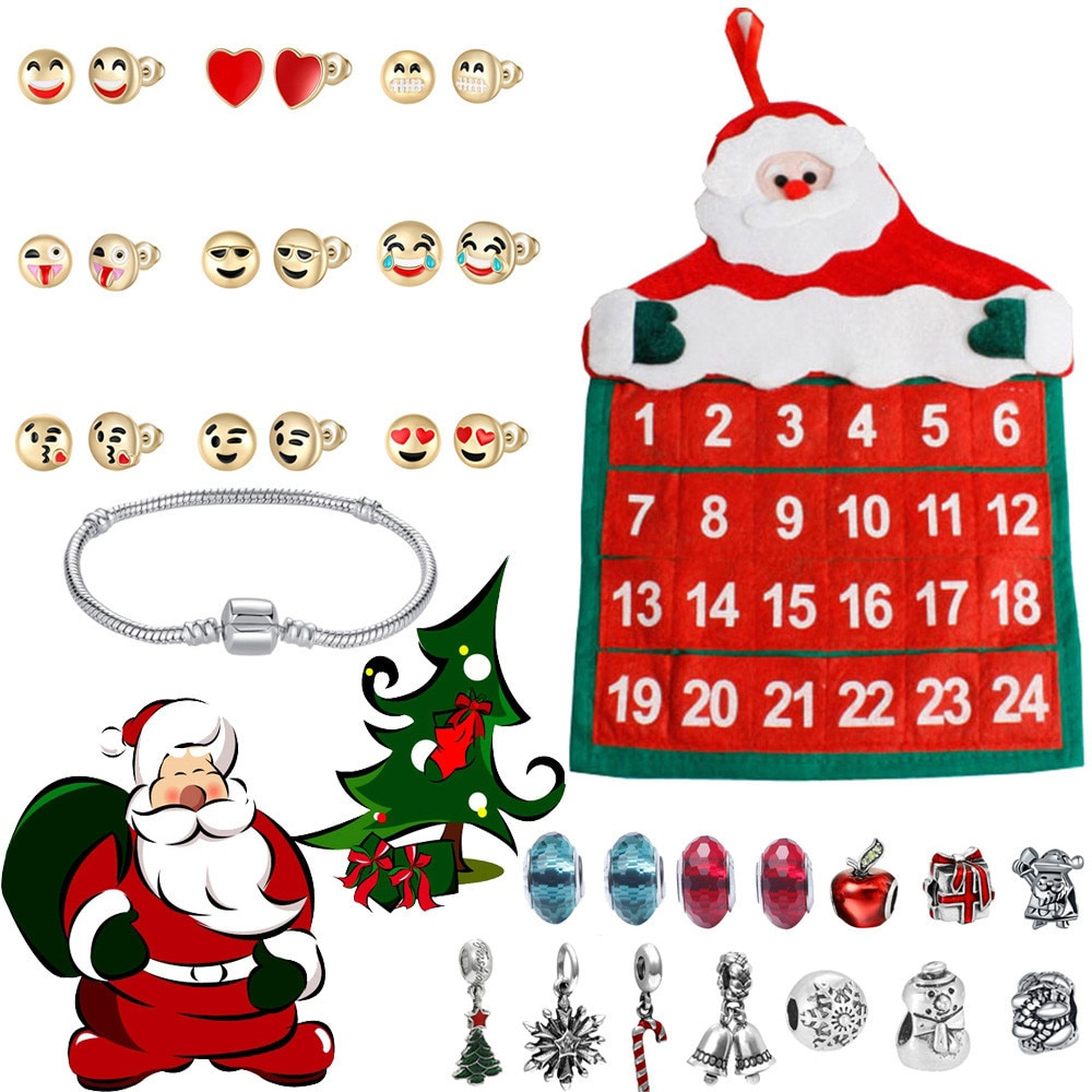 Jewelry Advent Calendar 2019 24 Day With Bracelet