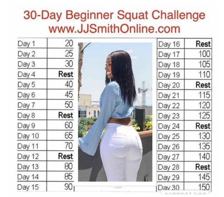 Jj Smith Is At It Again Squat Challenge For Beginners