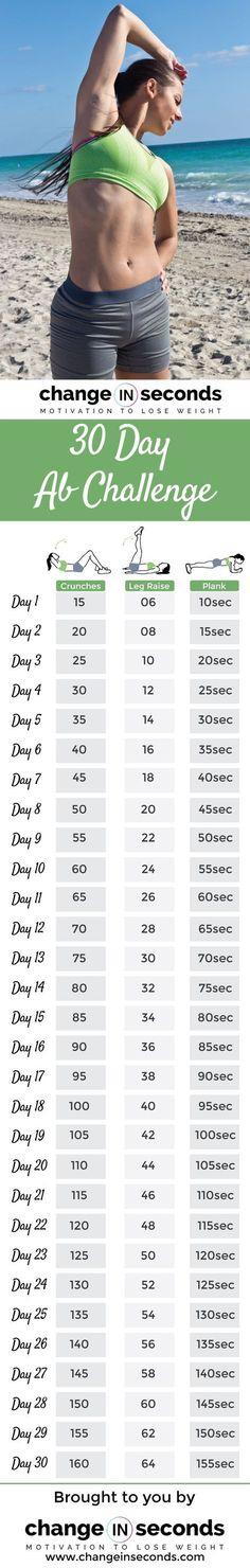 Jjs 30 Day Abs Challenge Jjsmith Jj Smith Work It