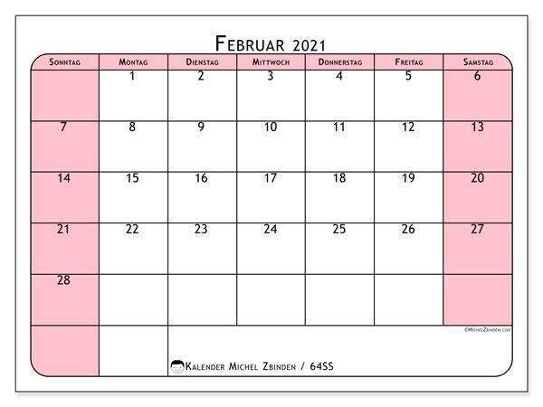 Kalender 2021 Zum Ausdrucken Ss Michel Zbinden De