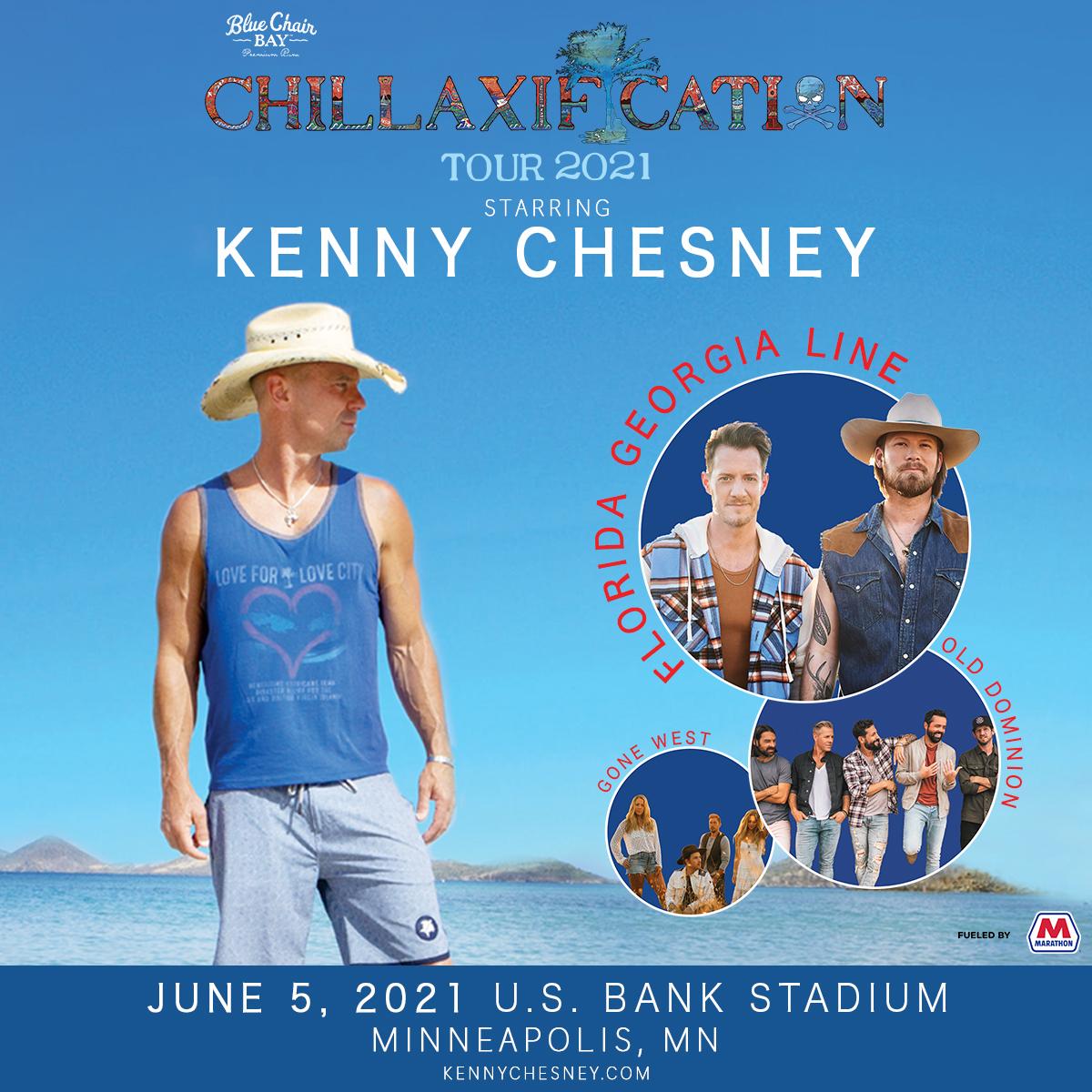 Kenny Chesney Postpones Initial Chillaxification Dates U
