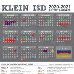 Klein Isd Calendar 2020 Calendar Template 2020 1