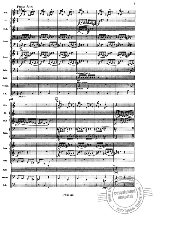 lhistoire de babar full score orch from francis poulenc