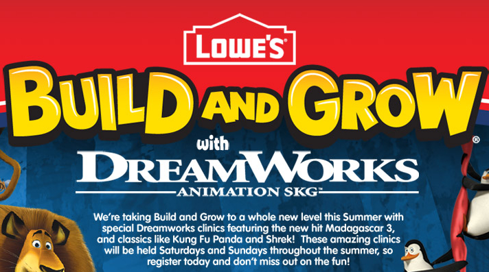 Lowes Build And Grow Clinic Kung Fu Panda Spinning Attack