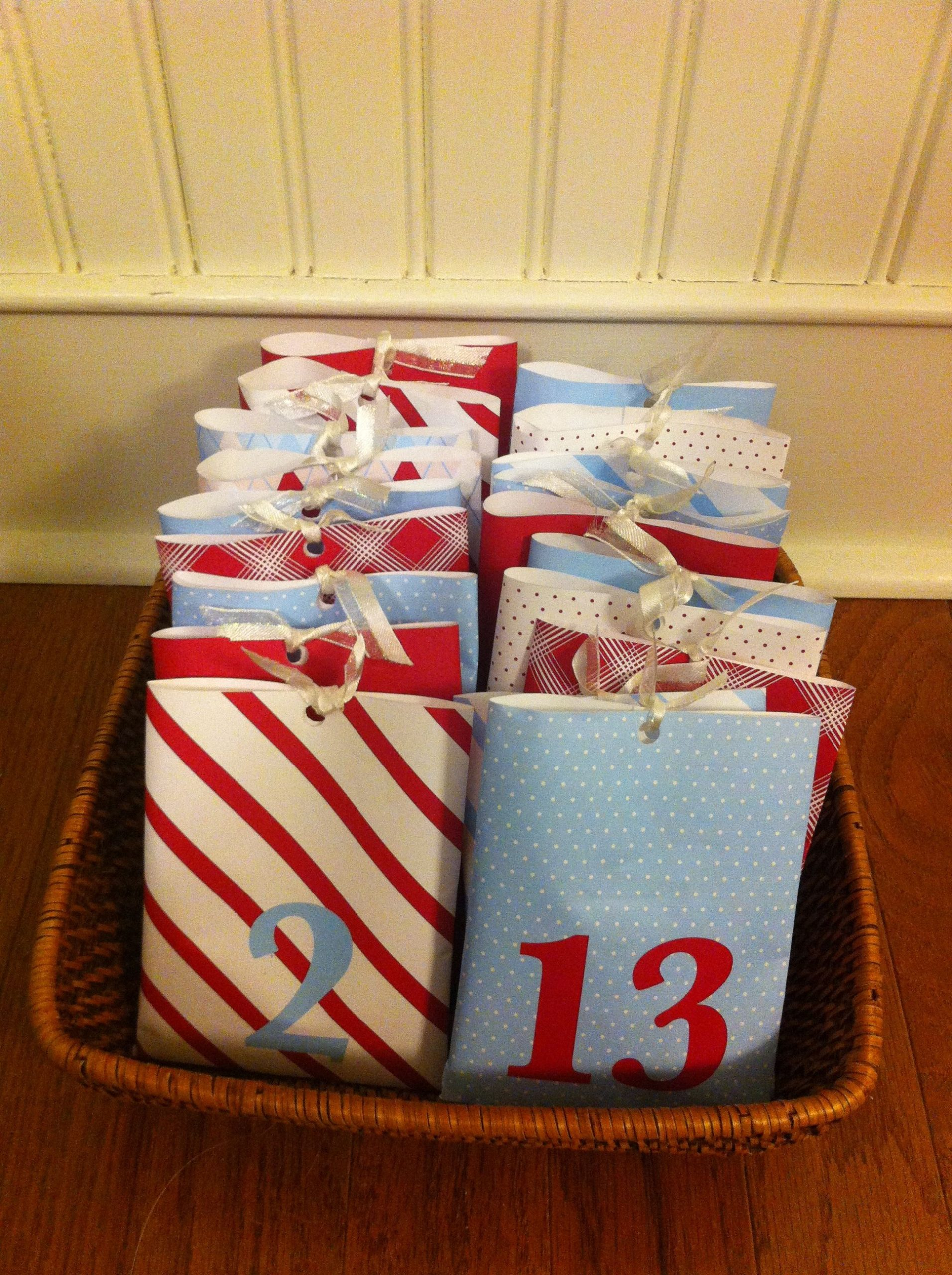 Make Your Own Advent Calendar Fill With Whatever You Want