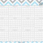 Make Your Own Printable Calendar Calendar Template 2020