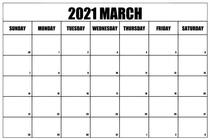 March 2021 Calendar Pdf Excel Word Templates In 2020