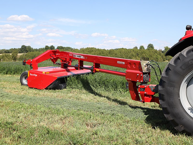 Massey Ferguson Big Mower Conditioner Debuts
