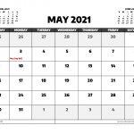 May 2021 Calendar Australia With Holidays Free Printable