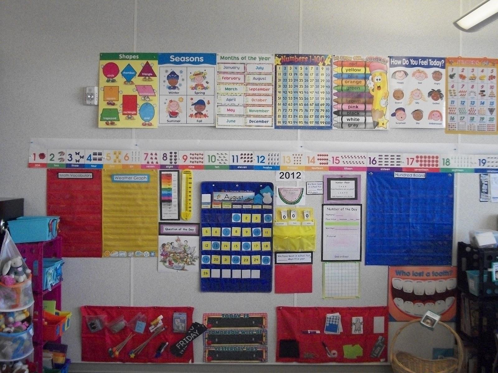 Miss Van Marens Fantastic First Grade My Calendar