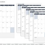 Monthly Calendar Type In Calendar Template Printable