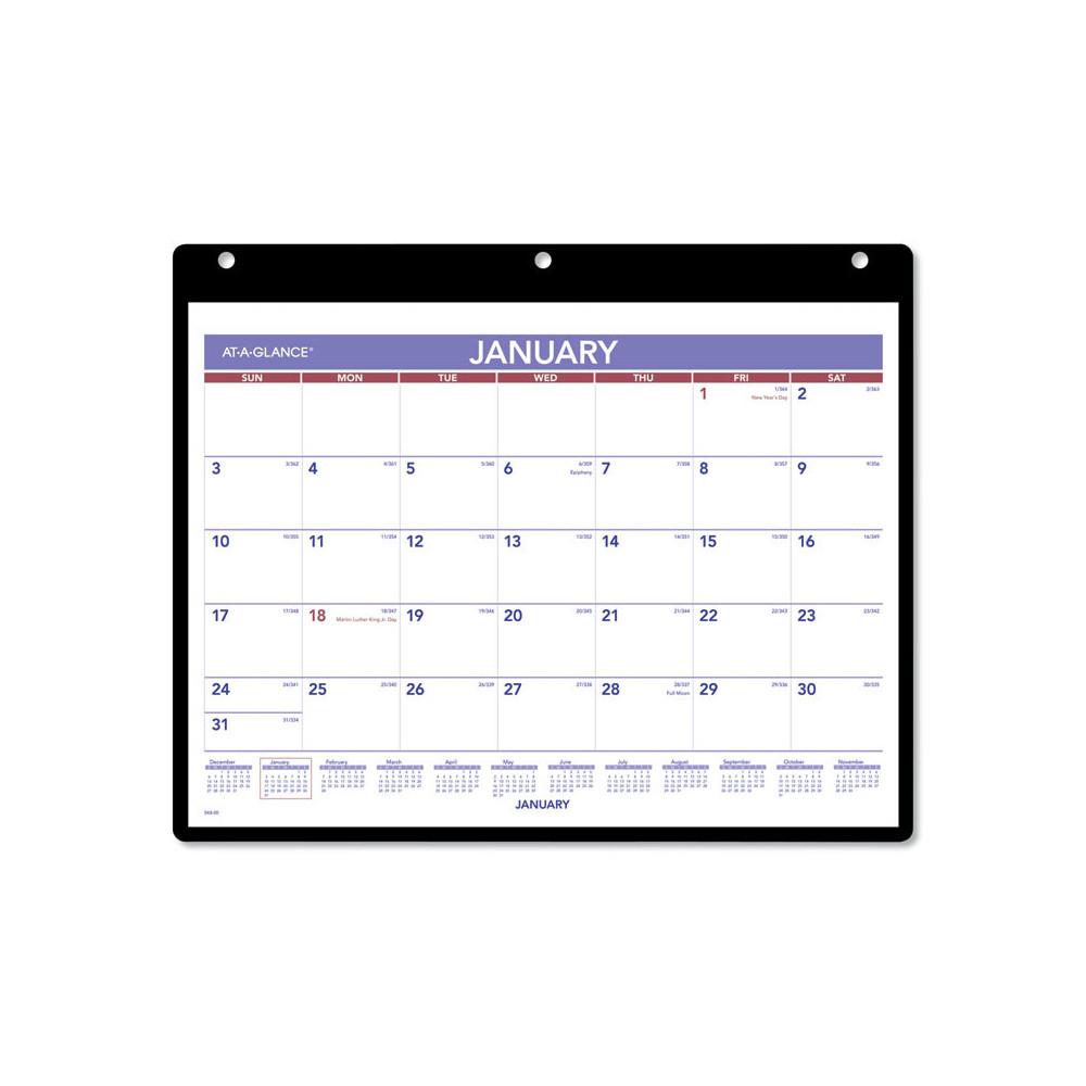 Monthly Desk Wall Calendar 11 X 8 White 2021 Aagsk800