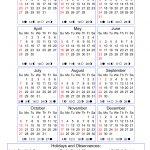 Moon Phases Calendar 2019 With Holidays Calendar 2019