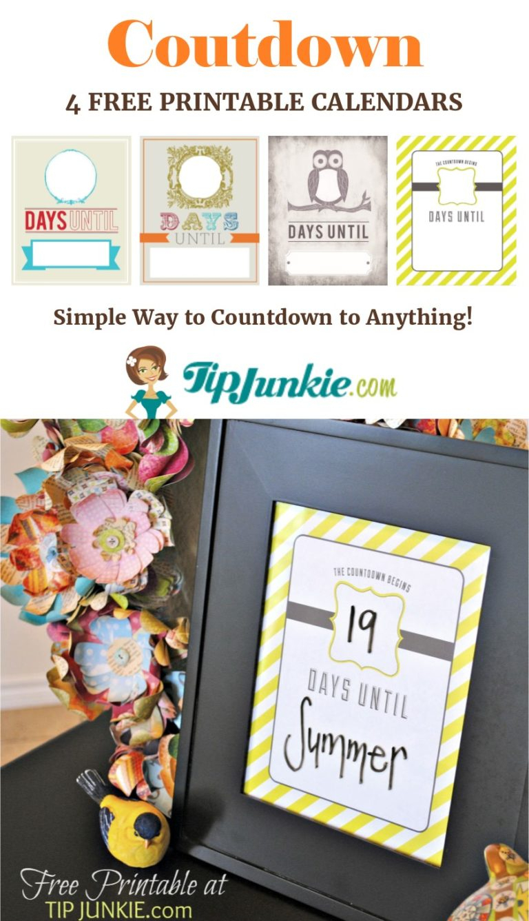 Must Have Printable Calendars For October Free Tip Junkie 1