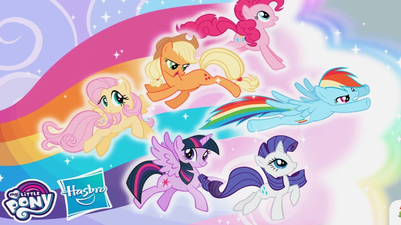 My Little Pony Rainbow Runners Epic Color Rush All