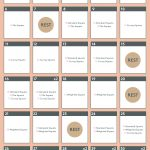 Nifty 30 Day Squat Challenge Printable Soham Website 1