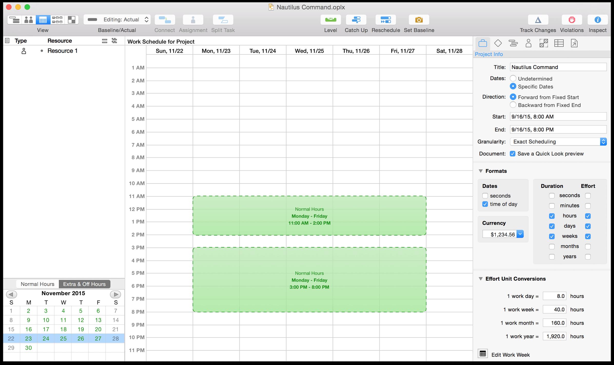 Omniplan 3 For Mac User Manual Working In Omniplan A