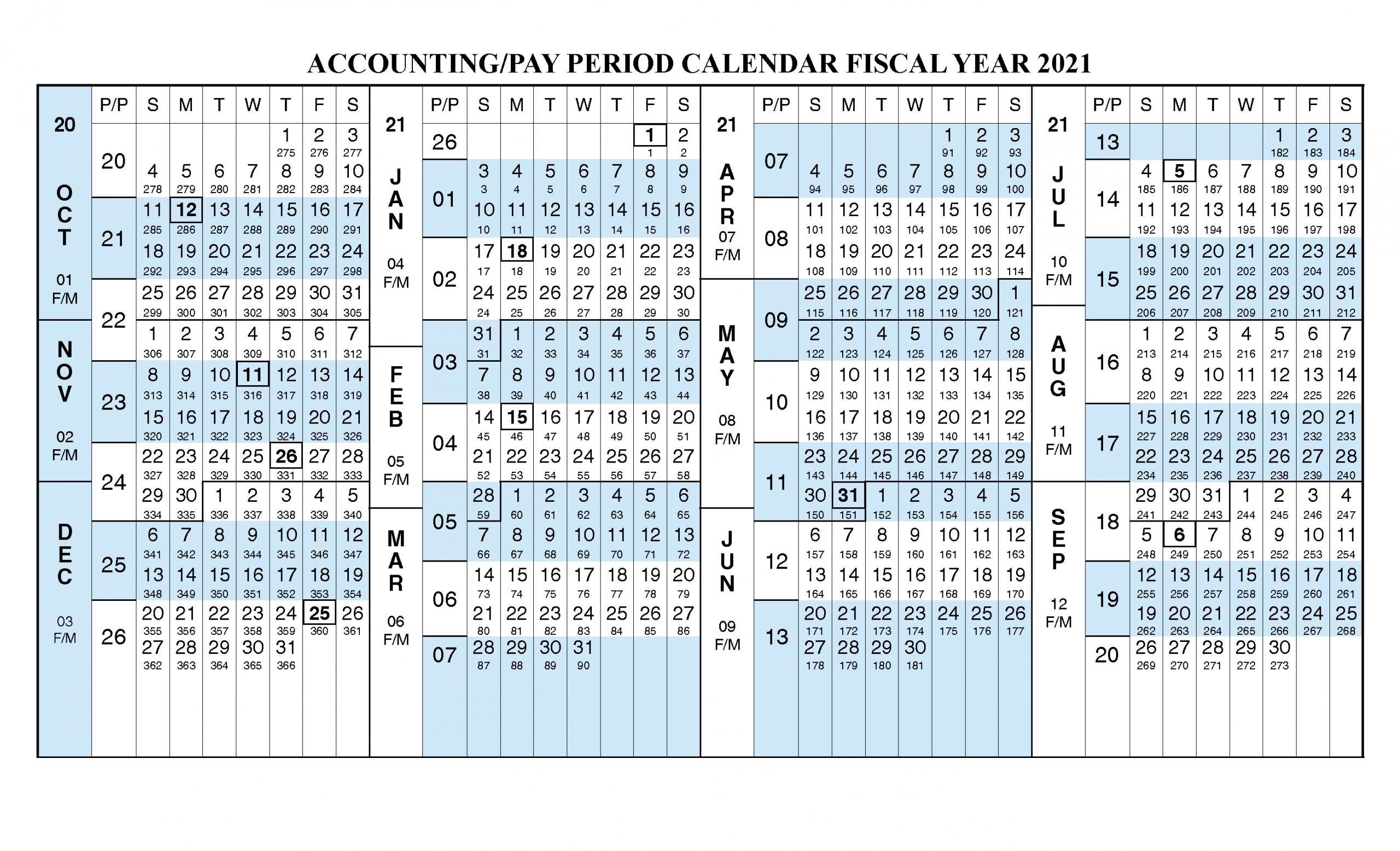 Pay Period Calendar 2020 Calendar Fall 2020
