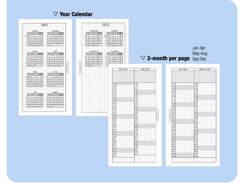 Personal 5 Year Calendar Book 2020 2021 2022 2023 2024