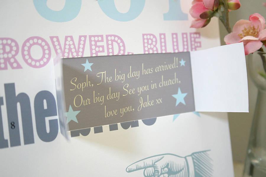 Personalised Wedding Countdown Calendarmodo Creative