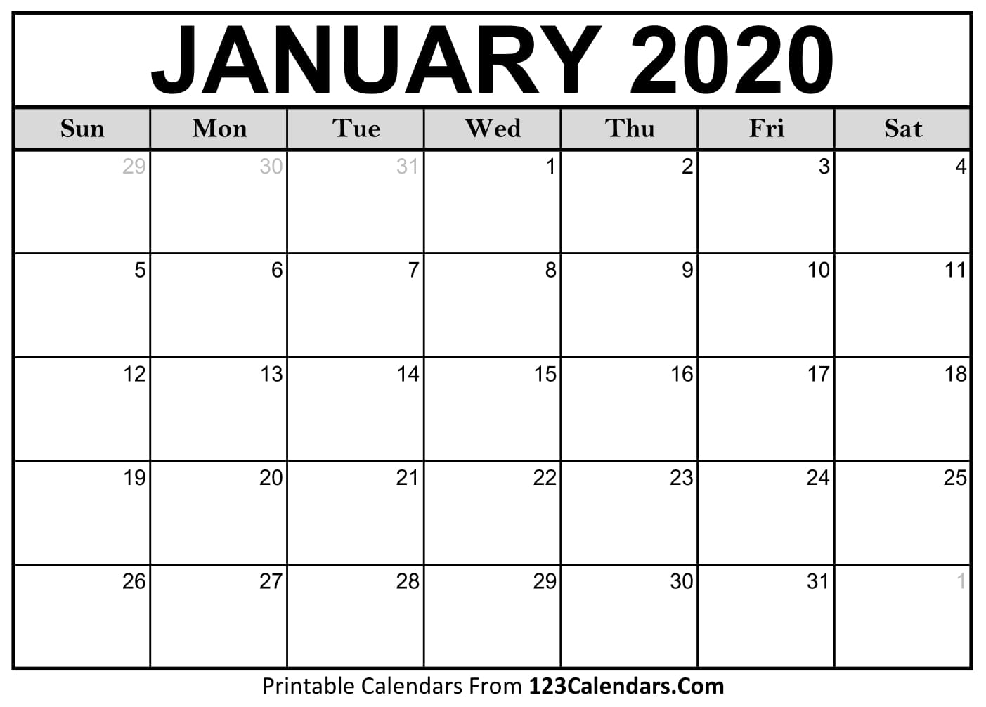 Print Free Calendars Without Downloading Calendar