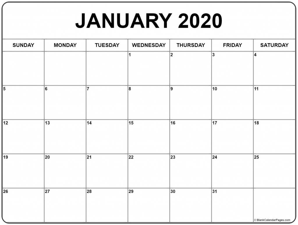 Printable 30 Day Calendar 2020 Calendar Template 2020 1