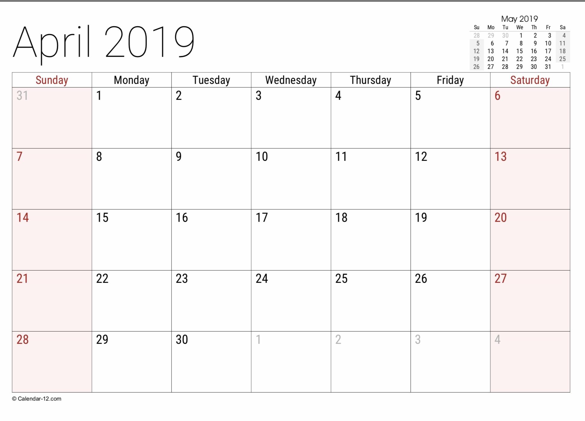 Printable Calendar Legal Size Paper Ten Free Printable