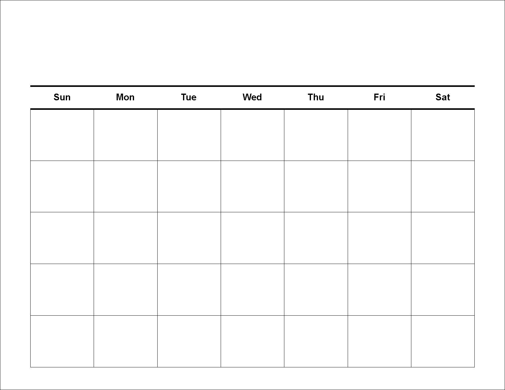 Printable Calendar Next 30 Days Ten Free Printable