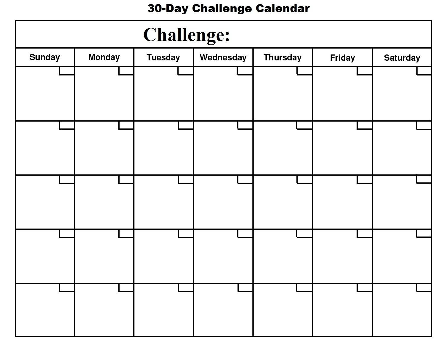 Printable Coutndown Days Template Calendar Template