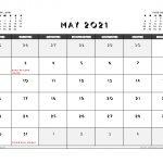 Printable May 2021 Calendar Uk Free Printable 2020