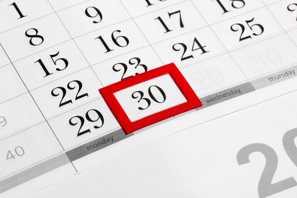 Printable Retirement Countdown Calendar Excludes Weekends 1