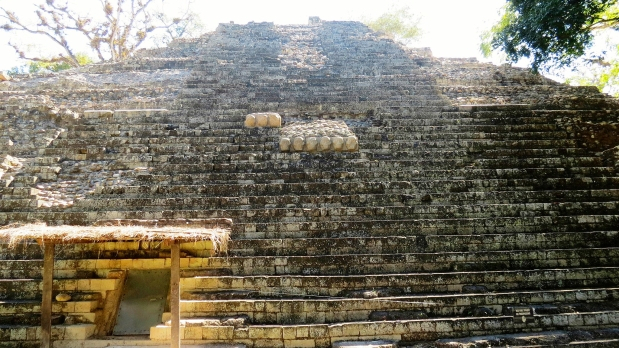 Reading The Hieriglyphic Staircase On The Maya In Honduras