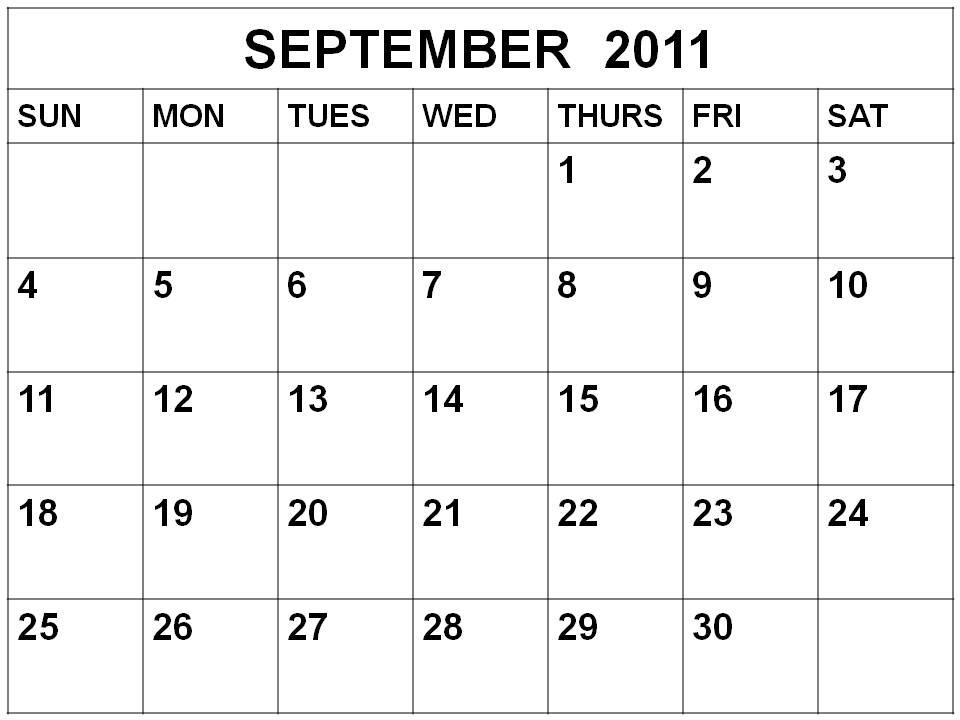 Selojara 2011 Calendar Template Microsoft