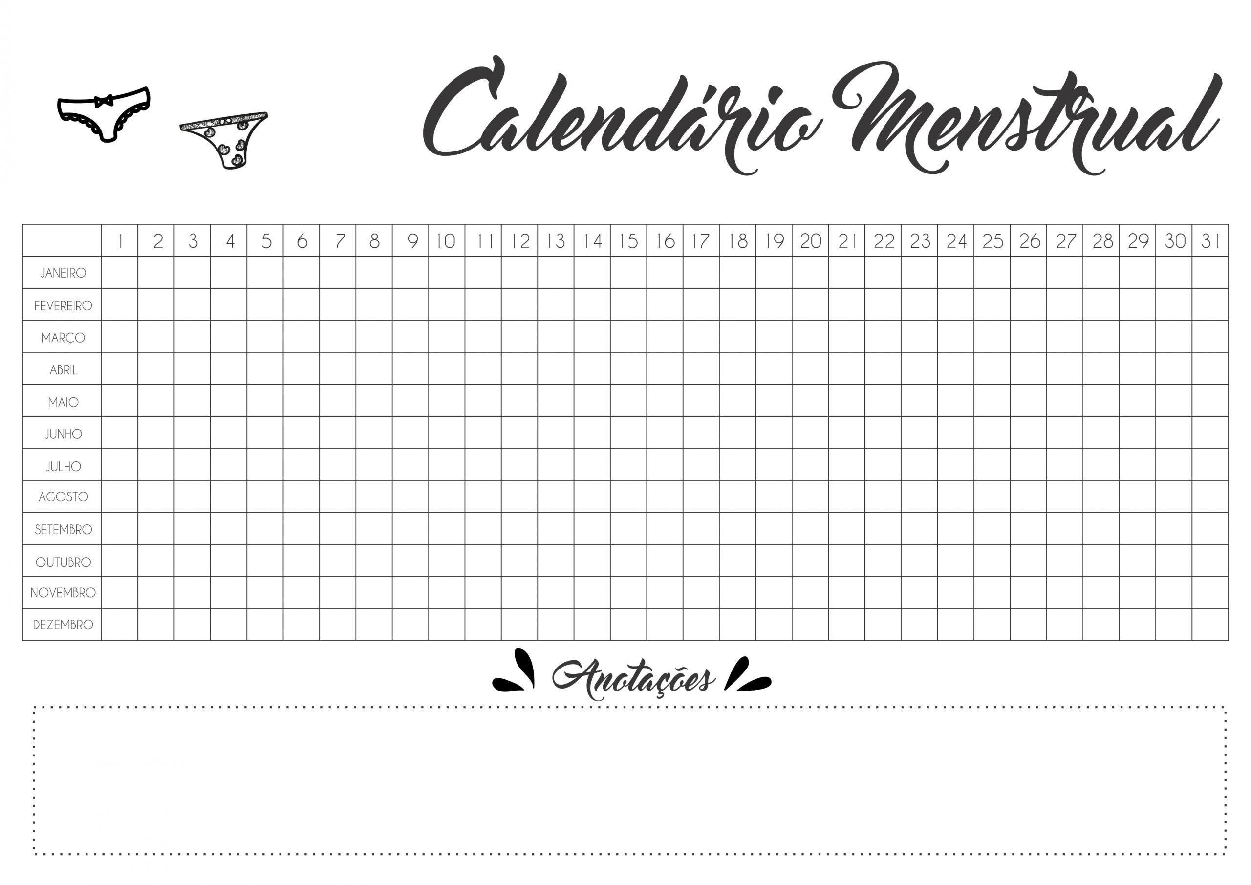 Sly Menstrual Calendar Printable Kim Website