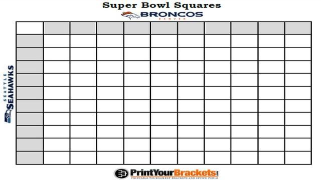 Super Bowl Pool Template Sanjonmotel
